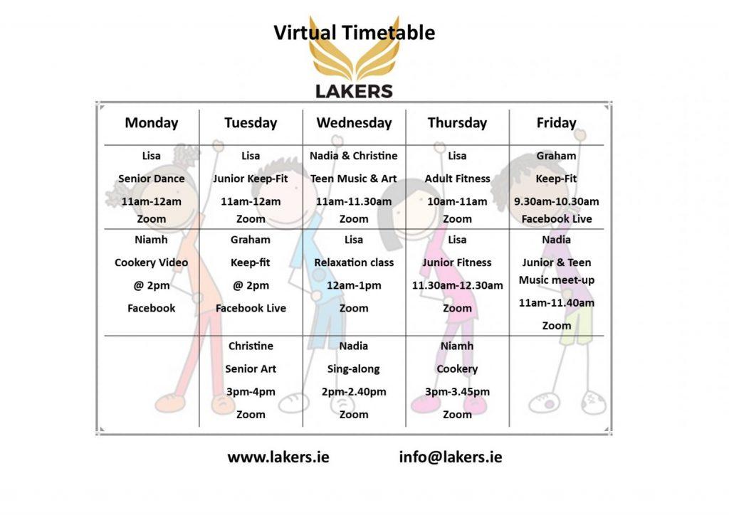 Virtual Timetable New