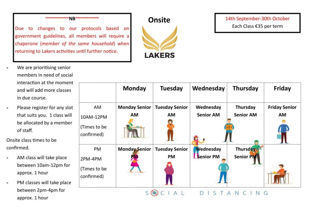 Term 3 Timetable 14th September 30th October 0nsite