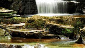 Glenbarrow Waterfall