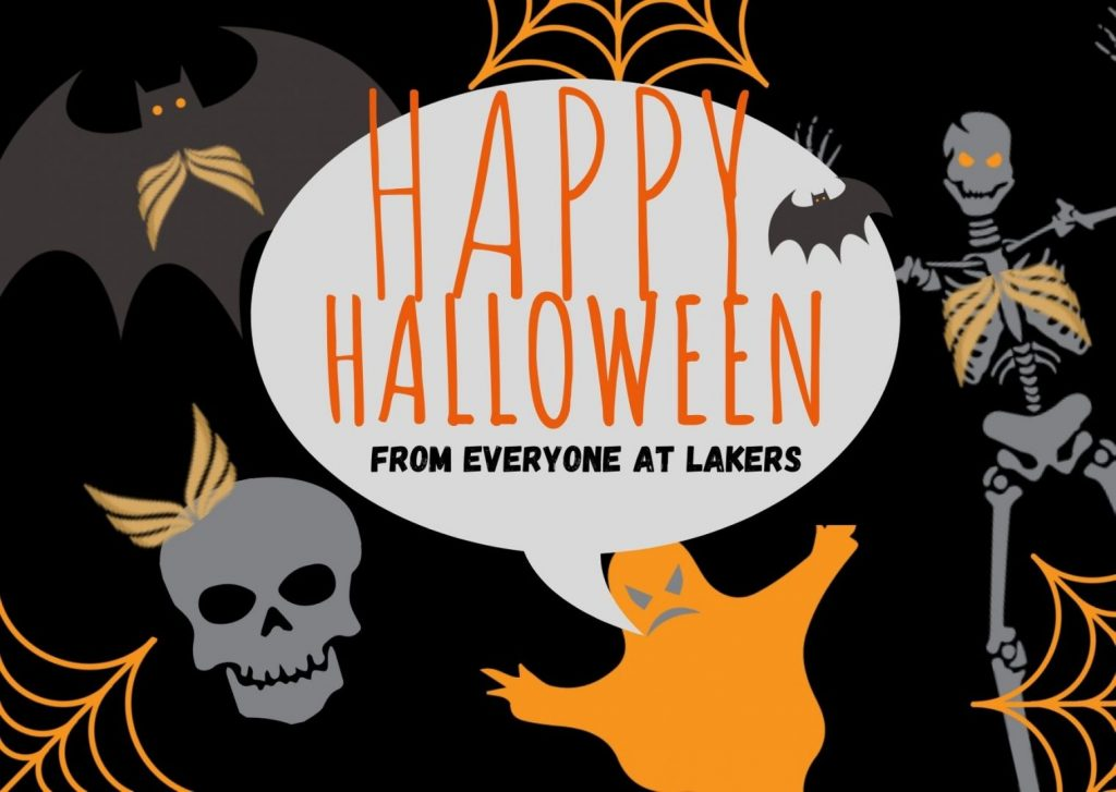 Happy Halloween from Lakers