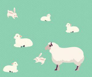 Spring Blog April Lambs